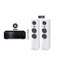 Heco Music Style 1000 White + Yamaha A-S801