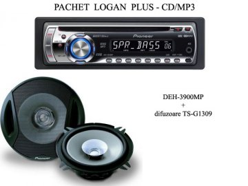 Pachet Logan PLUS MP3 Player